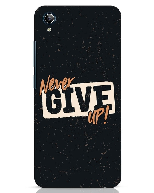 Shop Never Give Up Vivo Y91i Mobile Cover-Front