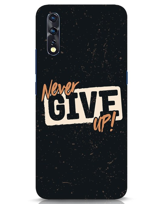 Shop Never Give Up Vivo Z1x Mobile Cover-Front