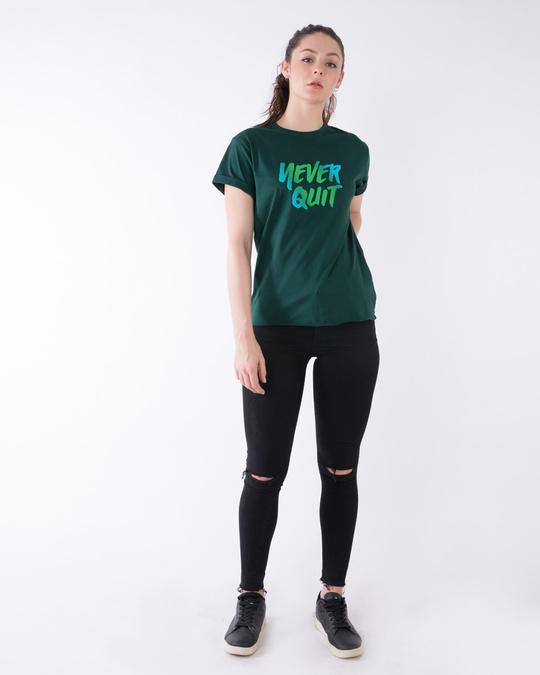 Shop Never Quit Boyfriend T-Shirt