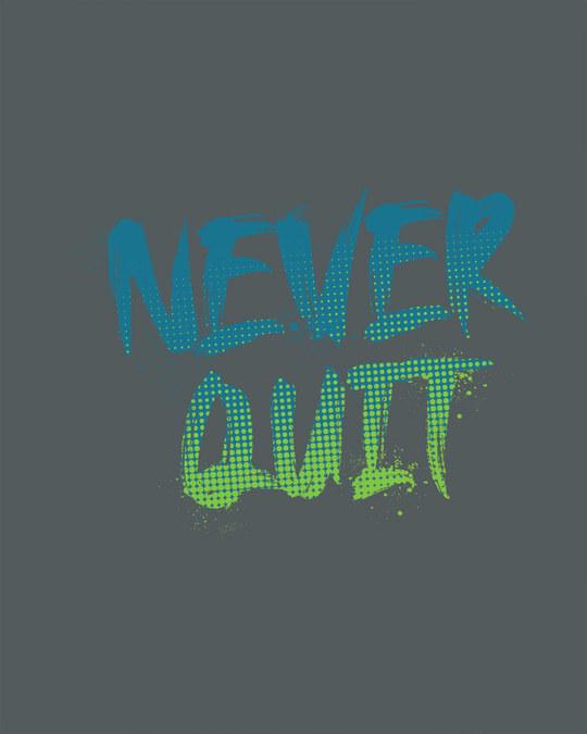 Shop Never Quit Gradient Full Sleeve T-Shirt-Full