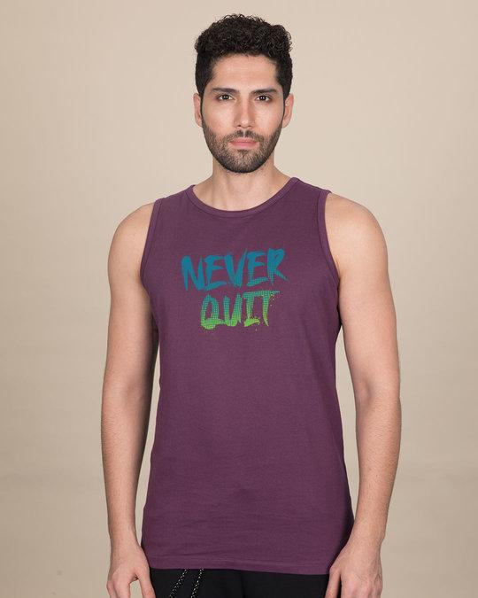 Shop Never Quit Gradient Vest-Front