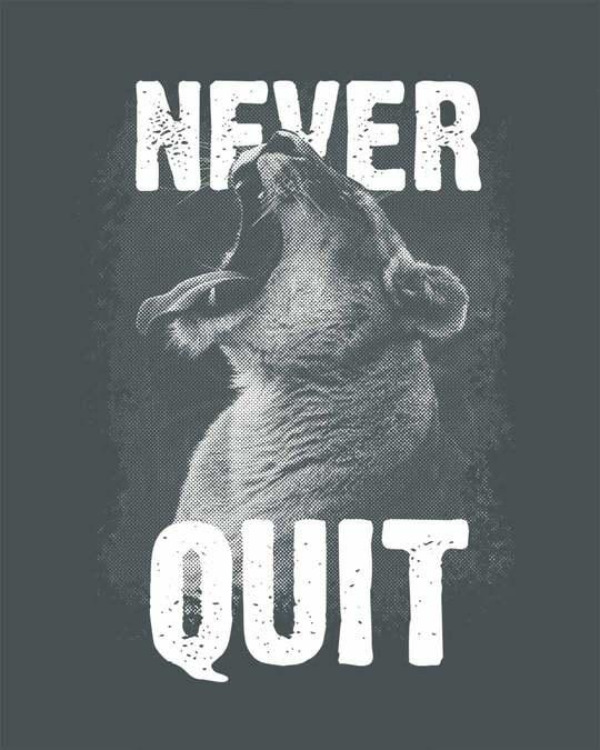 Shop Never Quit Lion Fleece Light Sweatshirt-Full