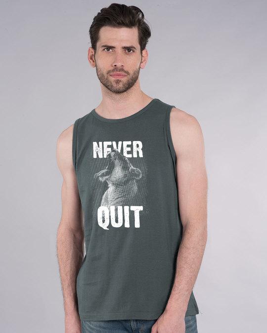 Shop Never Quit Lion Vest-Front