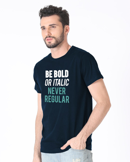 Shop Never Regular Half Sleeve T-Shirt-Design