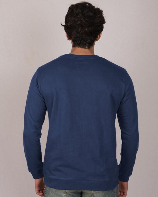 Shop Never Settle Fleese Light Sweatshirts-Back