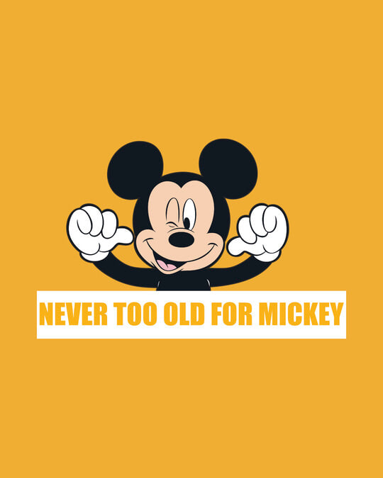 Shop Never Too Old For Mickey Fleece Sweater (DL)-Full