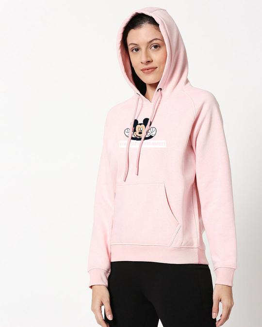 Shop Never Too Old For Mickey Melange Hoodie Sweatshirt-Back