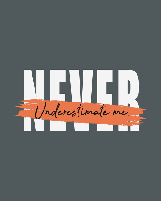 Shop Never Underestimate Me Boyfriend T-Shirt