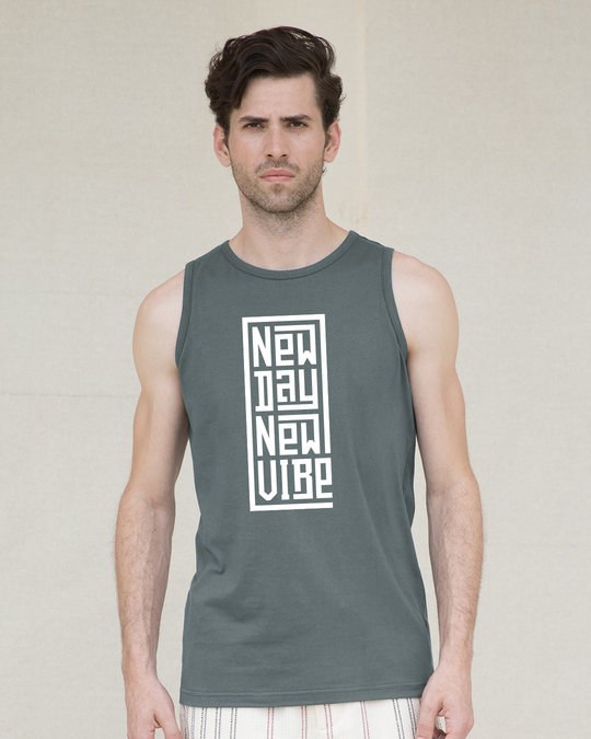 Shop New Day New Vibe Vest-Front