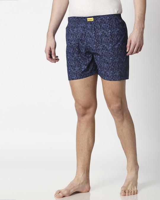 Shop Night Camo Men's Printed Boxers-Design