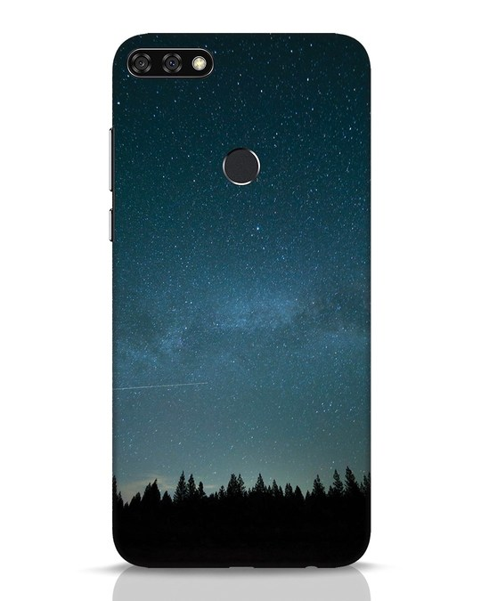 Shop Night Star Huawei Honor 7C Mobile Cover-Front