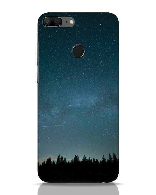 Shop Night Star Huawei Honor 9 Lite Mobile Cover-Front