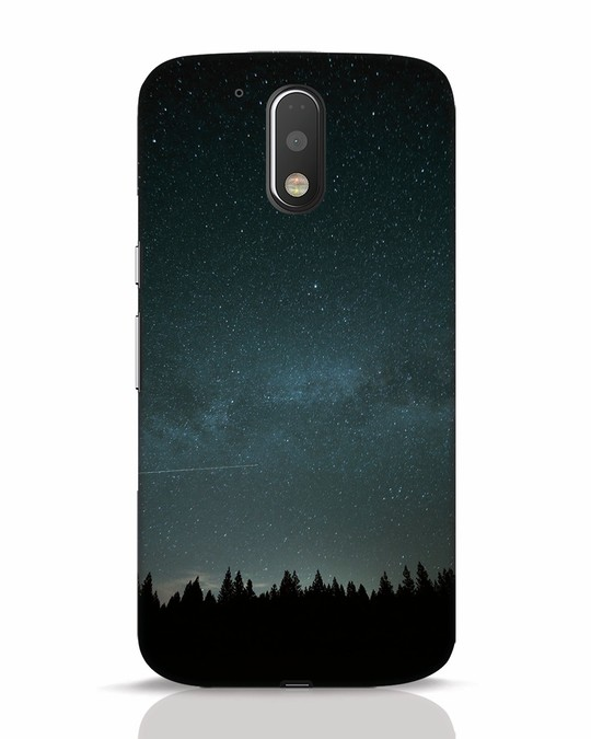 Shop Night Star Moto G4 Plus Mobile Cover-Front