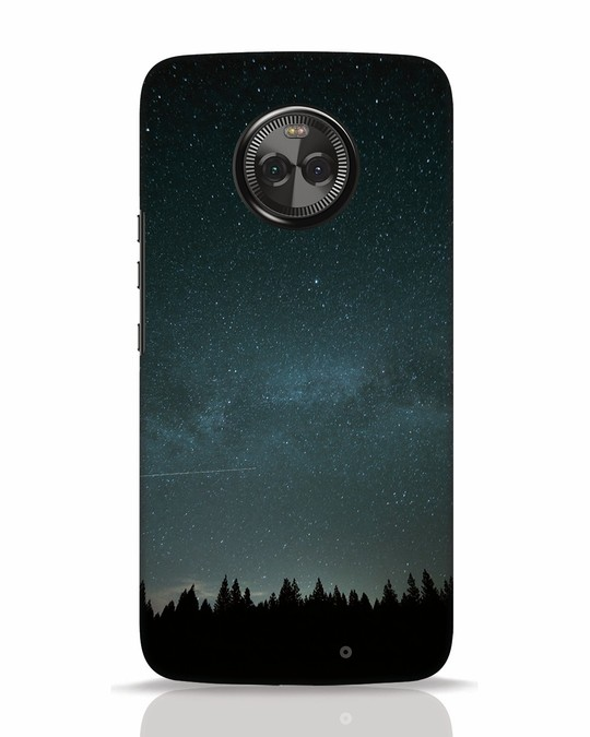 Shop Night Star Moto X4 Mobile Cover-Front