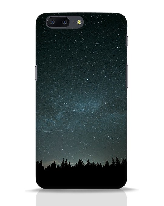 Shop Night Star OnePlus 5 Mobile Cover-Front
