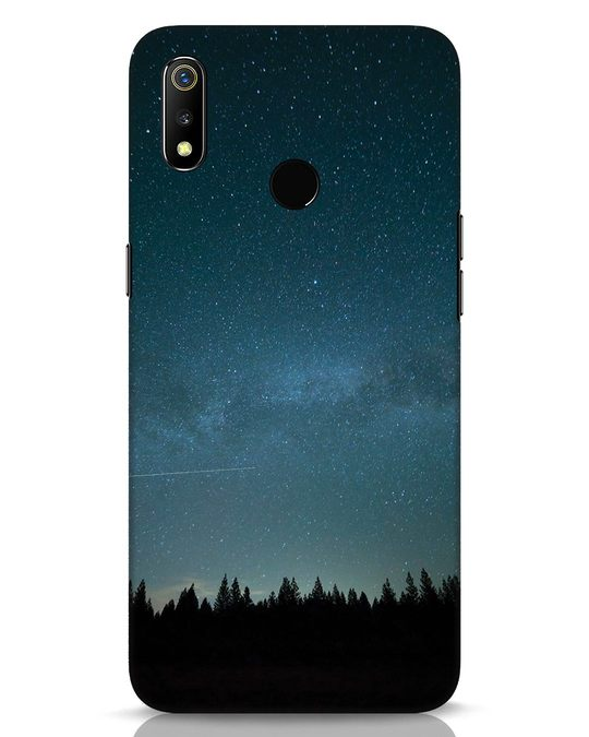 Shop Night Star Realme 3 Mobile Cover-Front