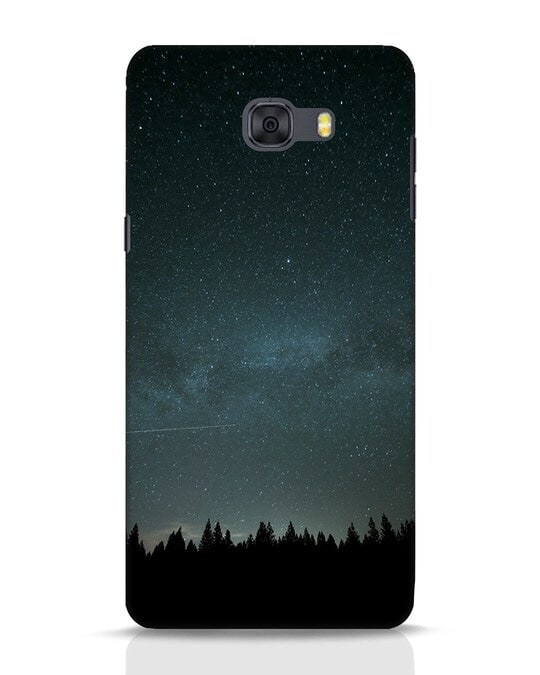 Shop Night Star Samsung Galaxy C9 Pro Mobile Cover-Front
