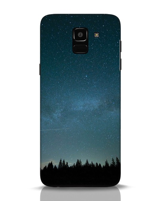Shop Night Star Samsung Galaxy J6 Mobile Cover-Front