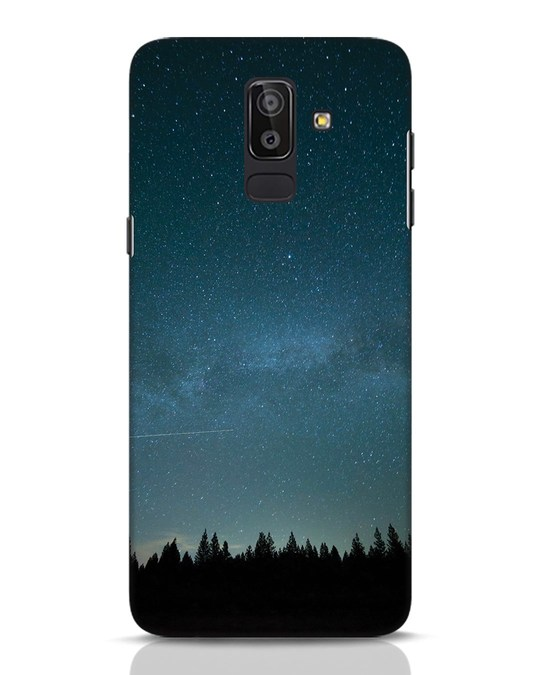 Shop Night Star Samsung Galaxy J8 Mobile Cover-Front