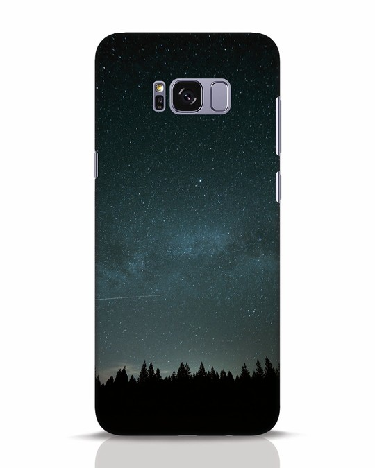 Shop Night Star Samsung Galaxy S8 Plus Mobile Cover-Front