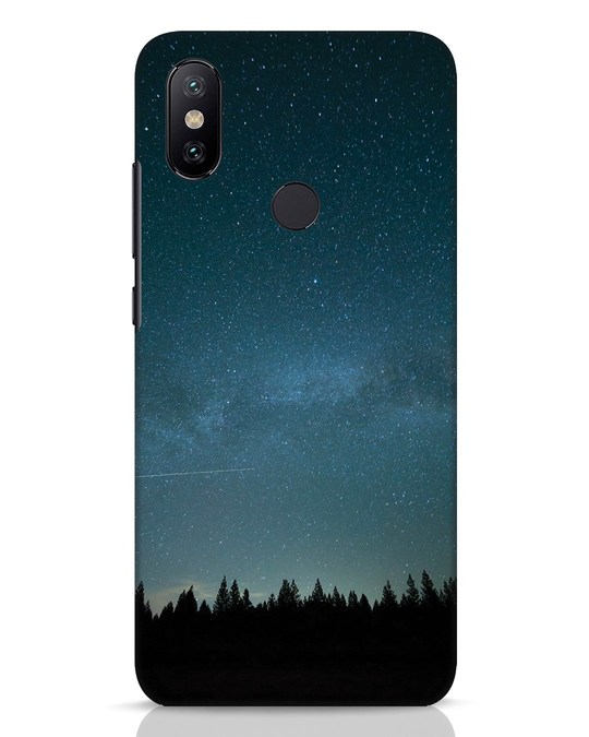 Shop Night Star Xiaomi Mi A2 Mobile Cover-Front