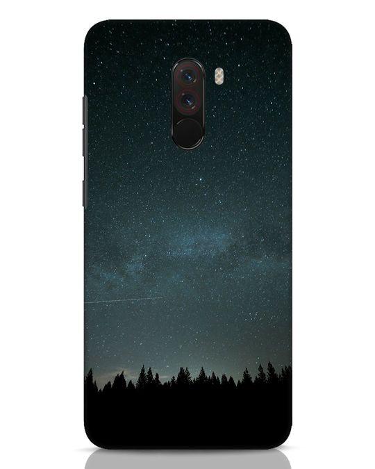 Shop Night Star Xiaomi POCO F1 Mobile Cover-Front