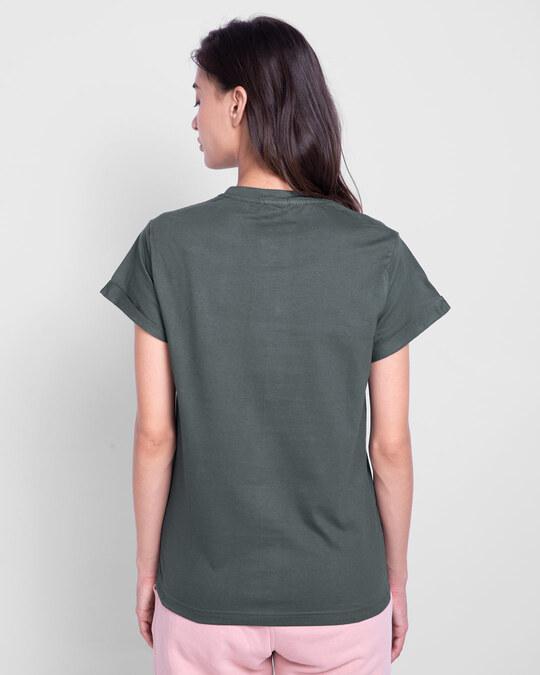 Shop Nimbus Grey  Boyfriend T-Shirt-Design