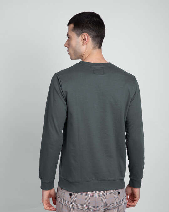 Shop Nimbus Grey Fleece Light Sweatshirt-Design