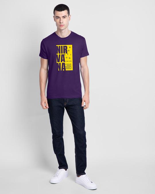 Shop Nir vah nuh Half Sleeve T-Shirt Parachute Purple -Design