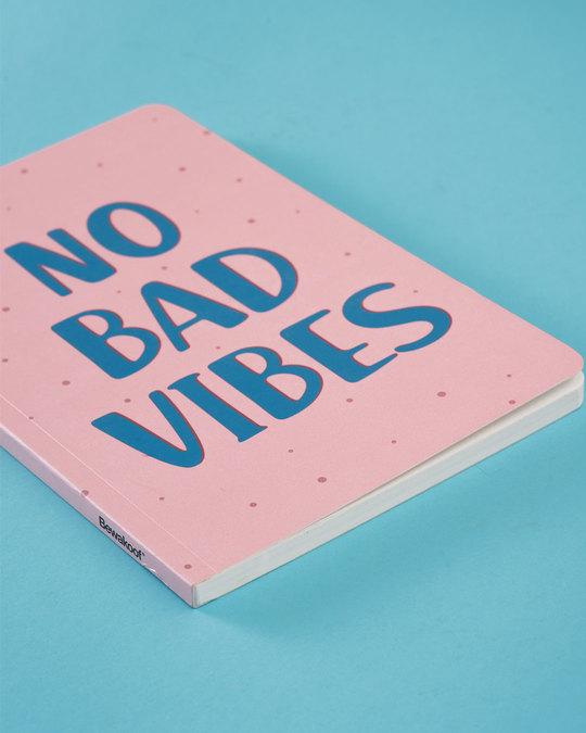 Shop No Bad Vibes Notebook