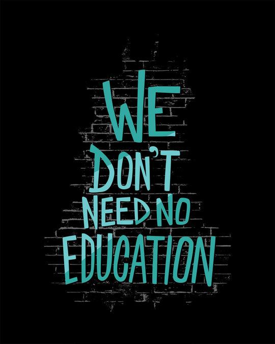 Shop No Education Boyfriend T-Shirt
