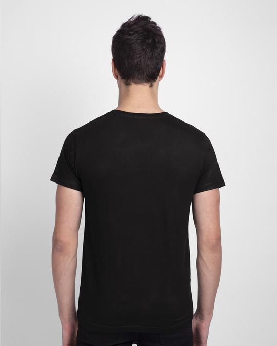 Shop No Excuses Block Half Sleeve T-Shirt Black-Back