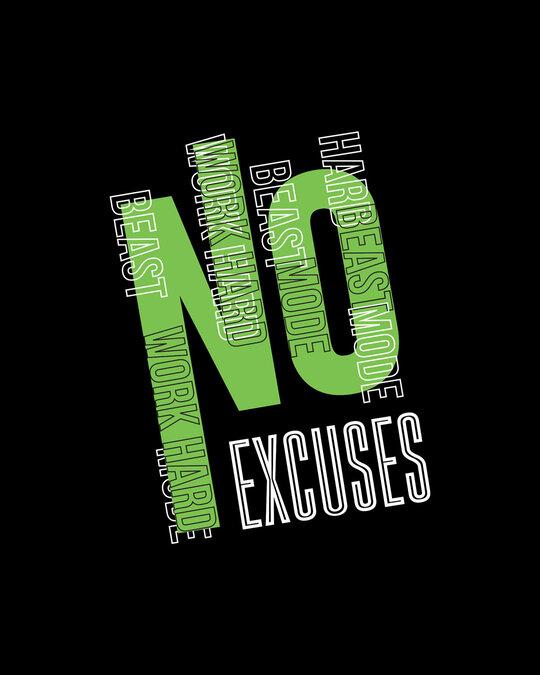Shop No Excuses Sporty Boyfriend T-Shirt Black-Full