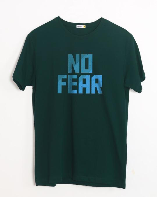 Shop No Fear Half Sleeve T-Shirt-Front