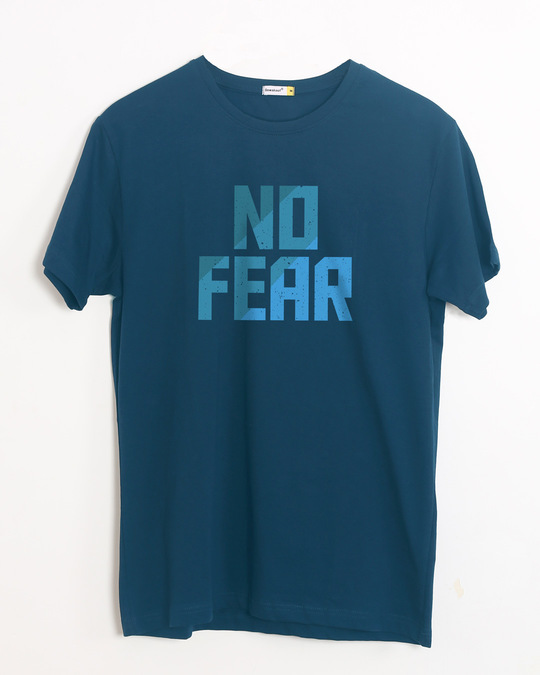 Shop No Fear Half Sleeve T-Shirt-Front