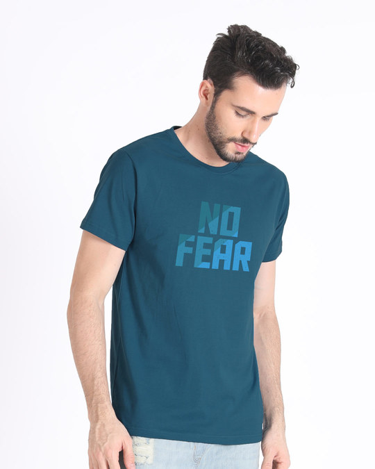 Shop No Fear Half Sleeve T-Shirt-Design