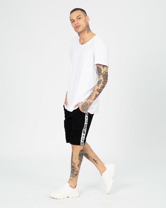 Shop No Fear No Limits Sports Trim Fleece Shorts-Full