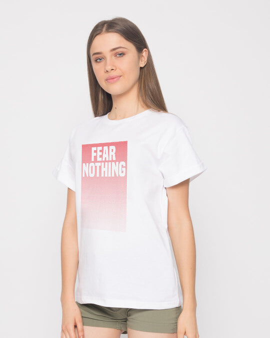 Shop No Fears Boyfriend T-Shirt-Back
