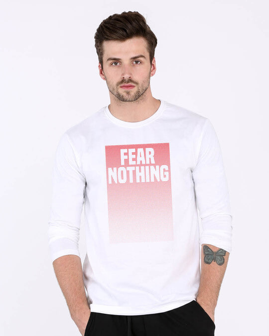 Shop No Fears Full Sleeve T-Shirt-Front
