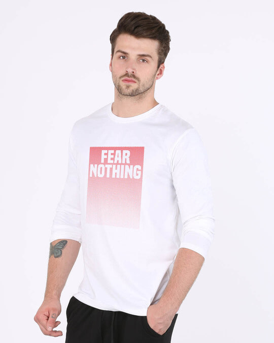 Shop No Fears Full Sleeve T-Shirt-Back