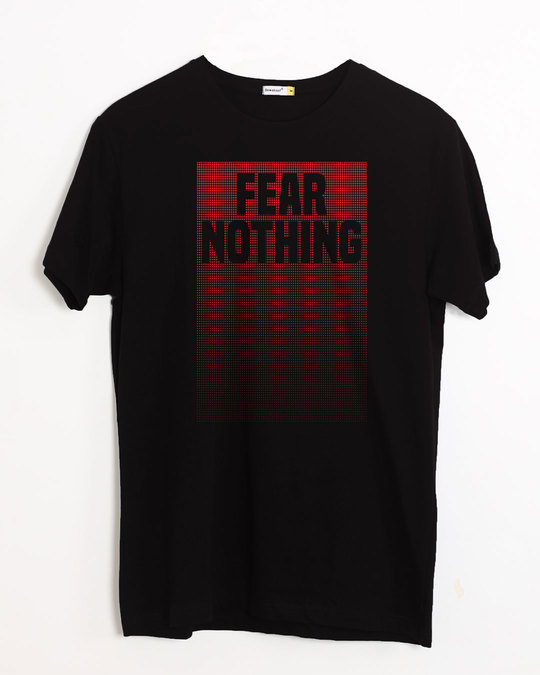 Shop No Fears Half Sleeve T-Shirt-Front