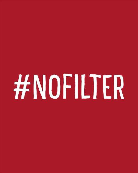 Shop No Filter Boyfriend T-Shirt