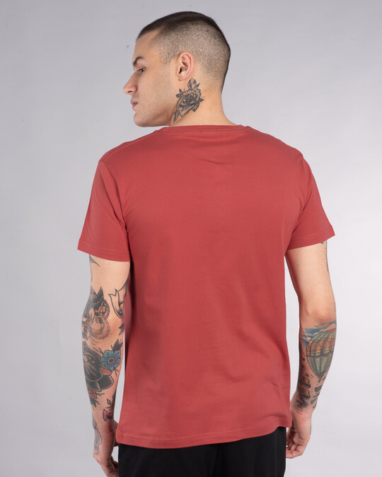 Shop No Moving Half Sleeve T-Shirt-Back