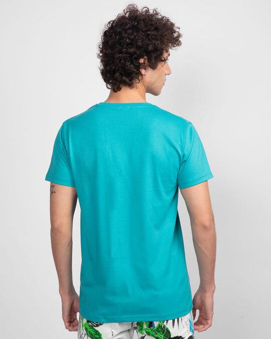 Shop No Moving Half Sleeve T-Shirt-Back