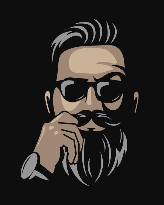 Shop No Shave Beard Full Sleeve T-Shirt-Full