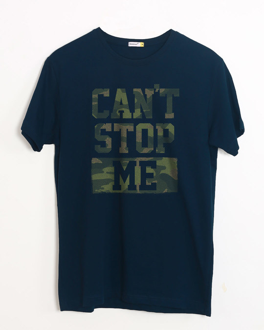 Shop No Stopping Me Half Sleeve T-Shirt-Front