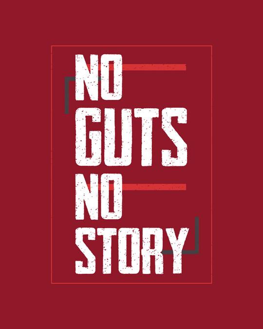 Shop No Story Full Sleeve T-Shirt