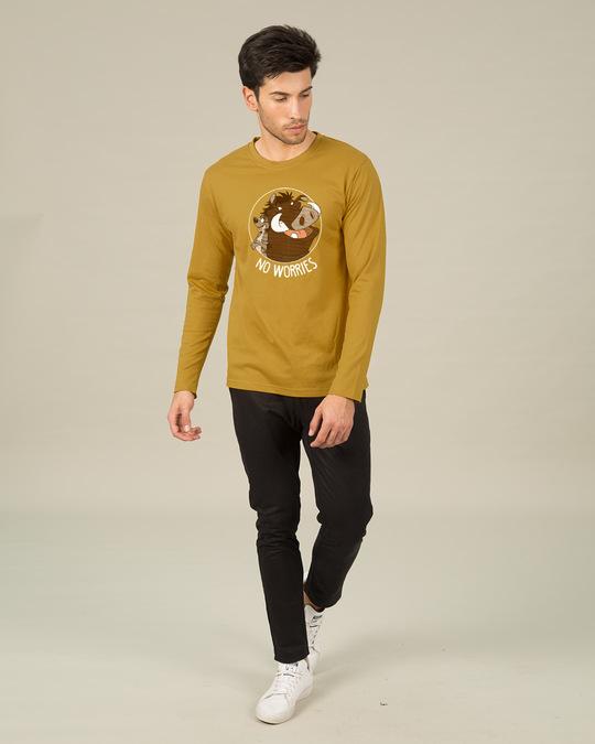 Shop No Worries Timon Pumbaa Full Sleeve T-Shirt (DL)-Full