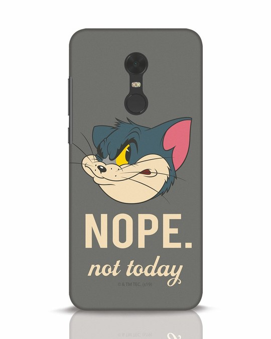 Shop Nope Tom Xiaomi Redmi Note 5 Mobile Cover (TJL)-Front
