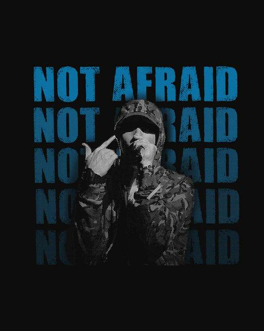 Shop Not Afraid Rap Boyfriend T-Shirt